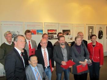 Jubilare der SPD Ortsvereine Hüsten und Neheim