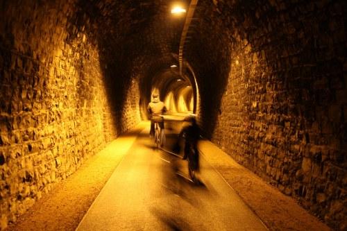 Photo of Drolshagen: Eisenbahntunnel wurde Radfahrertunnel