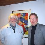 Volker Reichel (links) und Thomas Gosmann sind sich einig: Die Sekundarschule wird ein Erfolg für die beiden Städte.