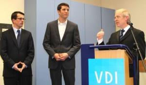 Verein Deutscher Ingenieure (VDI) zeichnet Hagener Studenten für herausragende Studienleistungen aus