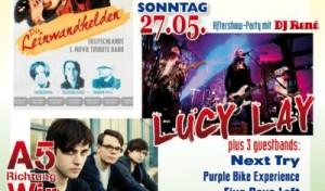 MegaPfingstparty in Dahlerbrück – fettes Line-Up!