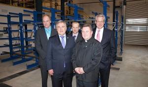Firma Olsberg weiht neue Betriebshalle ein