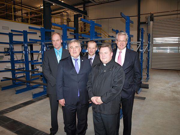 Photo of Firma Olsberg weiht neue Betriebshalle ein