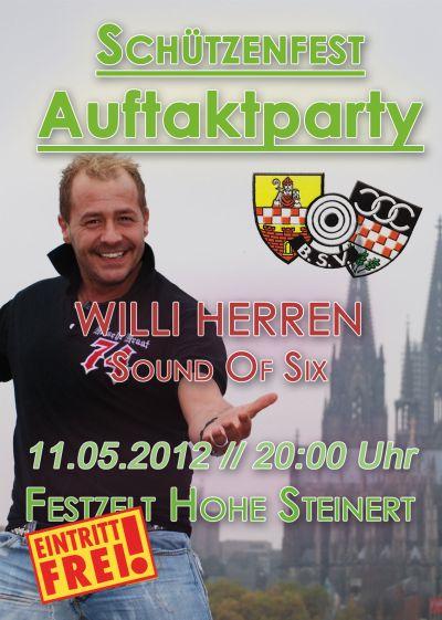 "Photo of Schützenfestauftaktparty – ""WILLI HERREN"""