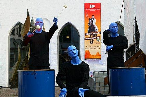 Kultur in allen Gassen: Das Attendorner Gauklerfest 2012.