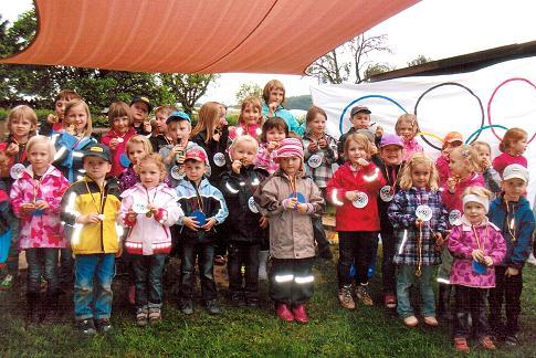 """Photo of Kindergarten Grevenstein: Jungen und Mädchen erleben """"Olympia vor Ort"""""""