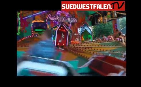 Jedes Jahr ein Publikumsmagnet: Der Musik-Express auf der Wendener Kirmes.