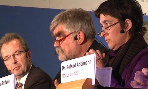 Barbara Steffens - Gesundheitsministerin von NRW - fand kaum Zustimmung bei der Reichshofer Bevölkerung für den Bau der neuen Forensischen Klinik.