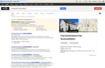 Wird von über 90 Prozent aller User benutzt: die Suchmaschine von Google