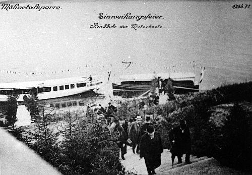 Photo of Diavortrag 100 Jahre Möhnesee