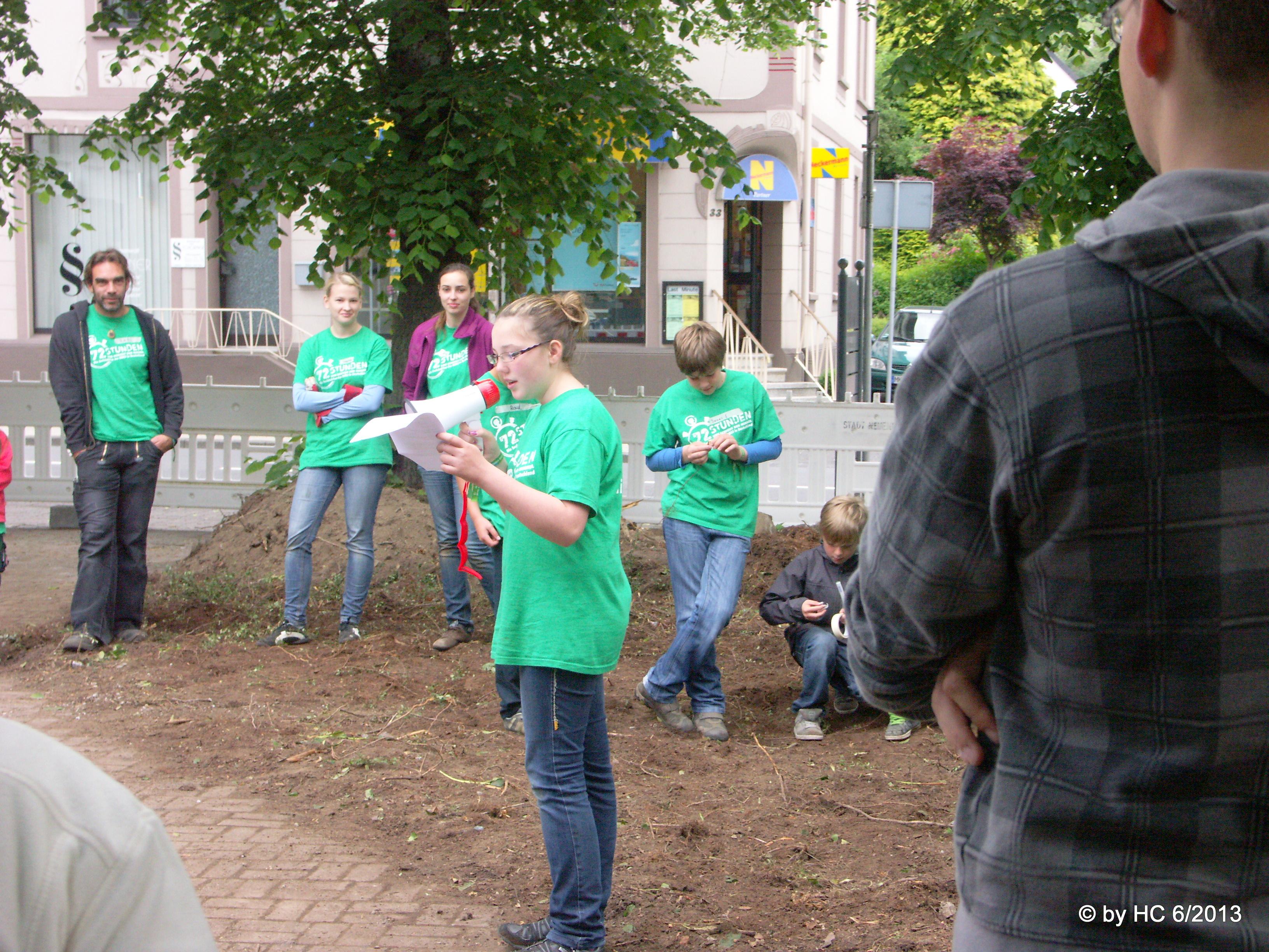 Photo of Ökumene am Stadtgarten. 72-Stunden-Projekt der Neuenrader Pfadfinder!