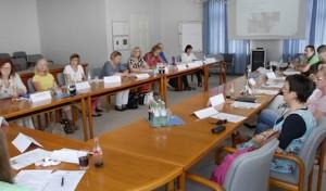 Arbeitsgruppe diskutiert über Kinderbetreuung