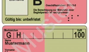 Schwerbehindertenausweis bald im Scheckkartenformat