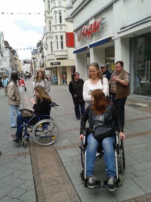 Photo of Bundesfreiwillige für Barrierefreiheit sensibilisiert