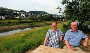 """""""Wunderschönes Stück Flusslandschaft"""" mitten im Ort"""