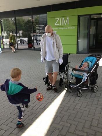 Mika Schnabel bei seinem ersten Ausflug
