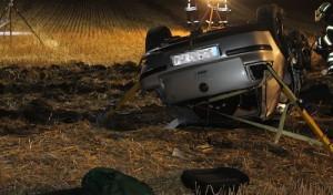 Autofahrer wird schwer verletzt