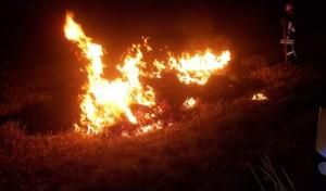 Wieder sechs Strohballenbrände – Feuerwehr im Dauereinsatz