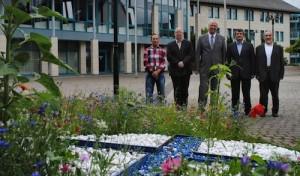 Bürgermeister Péus begrüßt neuen Hodscha