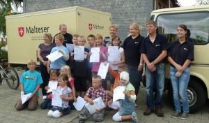 """""""Abenteuer Helfen"""" in Netphen-Beienbach – Malteser brachten Kindern die """"Erste Hilfe"""" näher"""