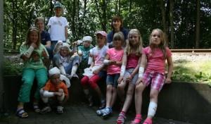 Kinder lernten bei Ferienspielen das DRK kennen