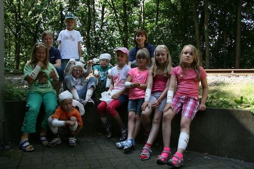 Photo of Kinder lernten bei Ferienspielen das DRK kennen