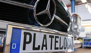 """""""plateLOCK"""": Der diebstahlgeschützte Kennzeichenträger aus Wickede"""