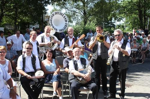 Die Herdorfer Dixieland Friends (Quelle: Gemeinde Wilnsdorf).