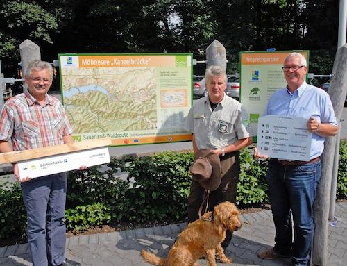 Photo of Neue Schilder für Naturpark Arnsberger Wald