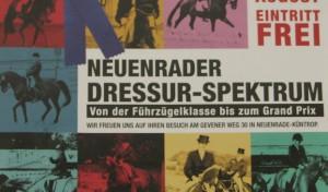 Neuenrader Dressur-Spektrum 09.-11. August 2013