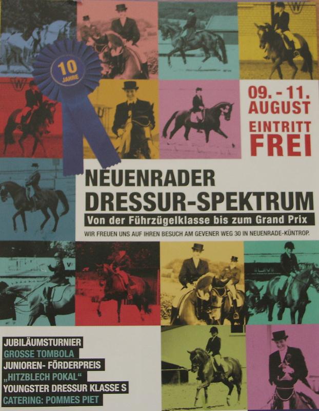 Photo of Neuenrader Dressur-Spektrum 09.-11. August 2013