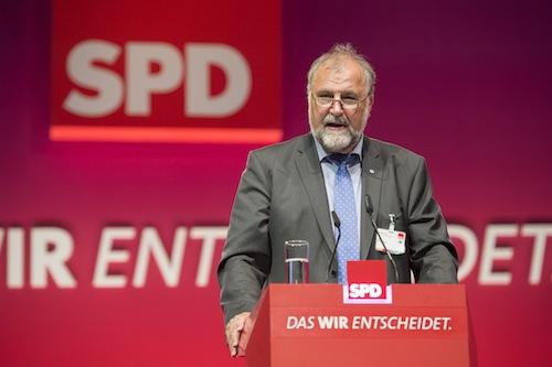 Klaus Wiesehügel (Foto: Marco Urban).
