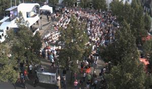 Angela Merkel spricht heute auf dem Marktplatz in Olpe