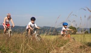 Kleine Mountainbiker kommen groß raus