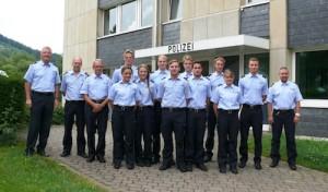 Kreispolizeibehörde begrüßt Praktikanten