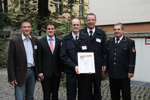 Photo of Integrationskonzept der Arnsberger Feuerwehr ausgezeichnet