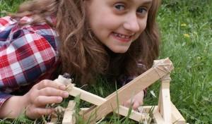 Hagen: Katapultbau für Kinder