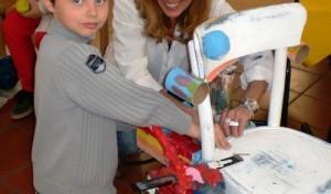 Kinder entdecken ihre künstlerische Ader