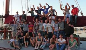 Segelabenteuer für Auszubildende auf dem IJsselmeer