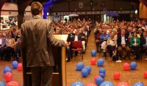 Fotostrecke: Prof. Dr. Bernd Lucke besucht Olpe