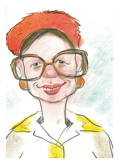 Bei der Comedy-Stadtführung sehen die Teilnehmer Attendorn durch Hettwich ihre Brille (Quelle: Hansestadt Attendorn).