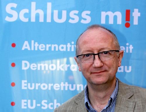 Reiner Rohlje ist der neue Kreissprecher der bürgerlichen Wahlalternative - Alternative für Deutschland (AfD) im Kreisverband Olpe. Foto: Sven Hupertz / AfD OE.