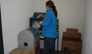 Entsorgungsstelle im Rathaus umgezogen