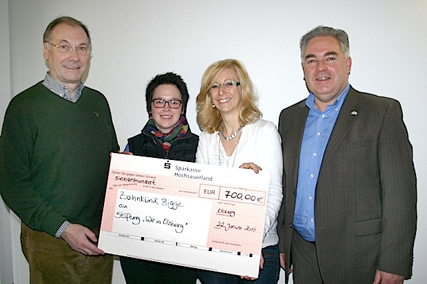 """Photo of 700 Euro für """"Wir in Olsberg"""""""