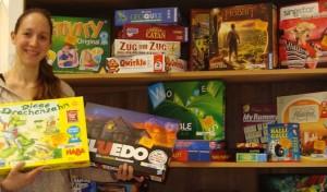 Bücherei: Jetzt Gesellschaftsspiele ausleihen!