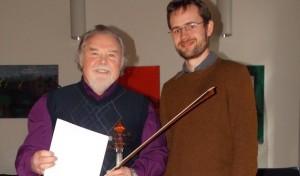 Valerij Kechter nach 17 Jahren Dienst an der Musikschule verabschiedet