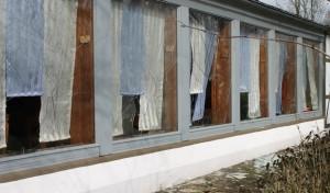 Fensterscheiben an Vereinsheim eingeschlagen