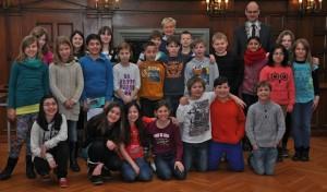 Drost-Rose-Schüler zu Besuch beim Stadtoberhaupt