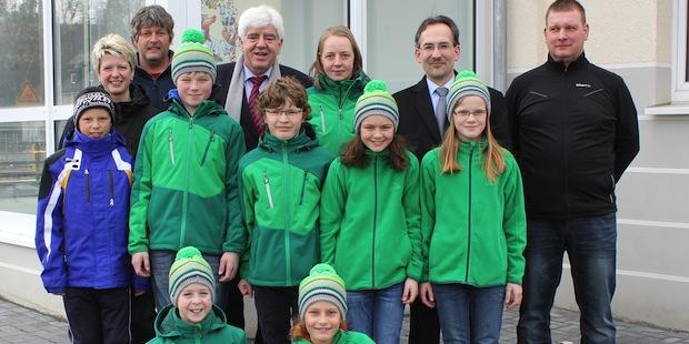 Photo of Landrat und Bürgermeister empfingen erfolgreiche Sportler