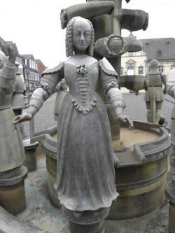 Der Bürgerbrunnen (Foto: Stadt Lippstadt).